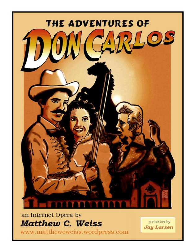 The Adventures of Don Carlos Poster